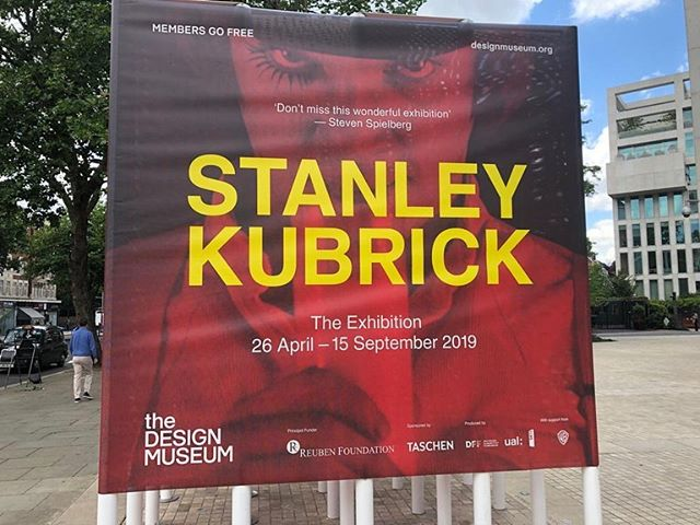 We had a glimpse inside the mind of the genius of #StanleyKubrick @thedesignmuseum last weekend,  a rare collection of notes, drawings and #props behind these #iconic #films. Essential viewing for anyone interested in #filmmaking and #design.