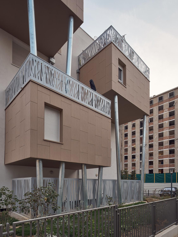 HB architectes ZAC Coudraie Poissy France Habitation