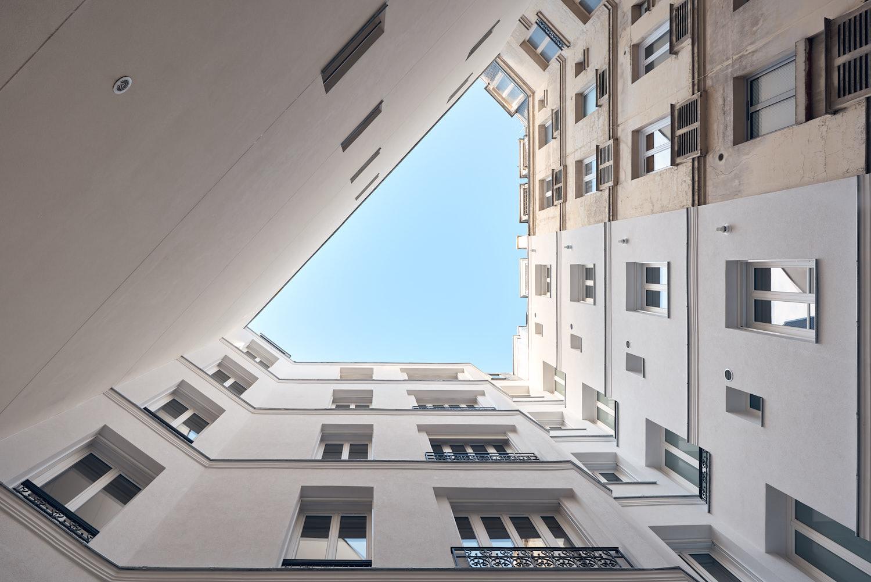 Truelle architectes - Bati-Renov - Elogie - Réhabilitation rue Mademoiselle Paris