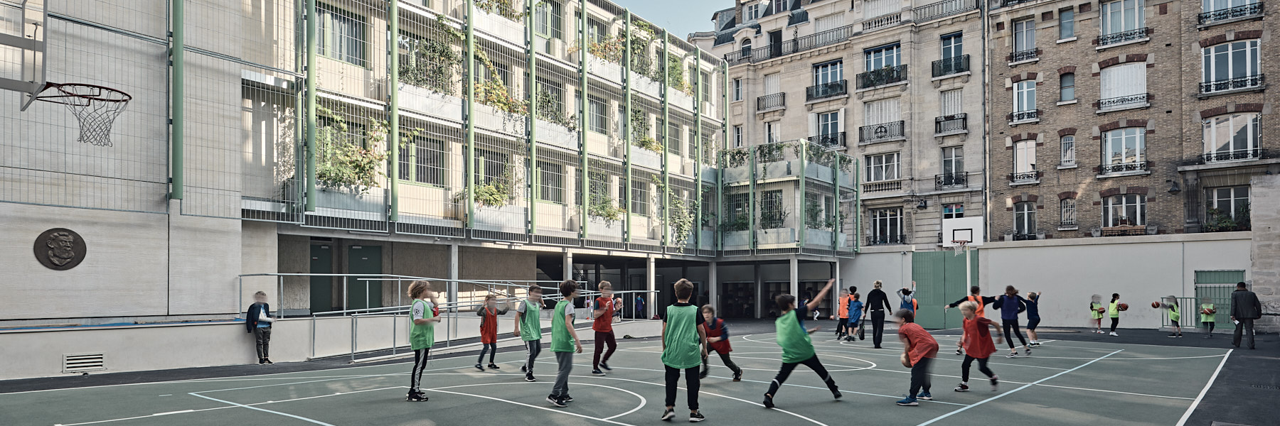 Extension école Massillon à Paris par Tordjeman architectes et Brezillon