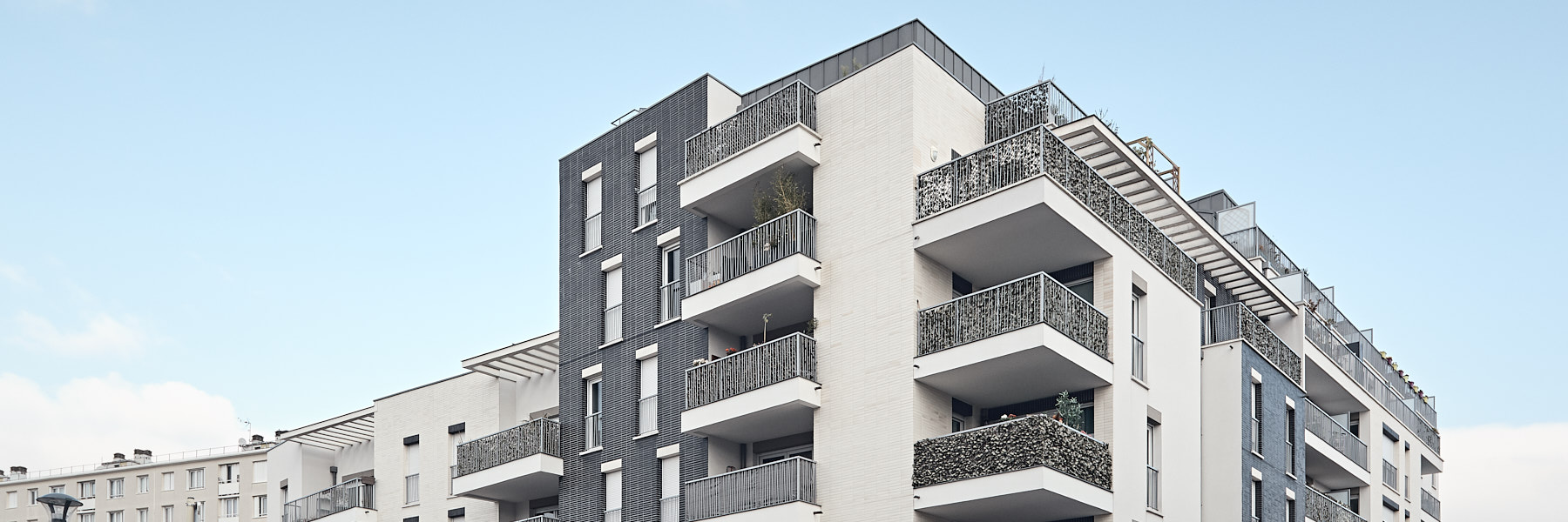 Vision'Air ensemble immobilier de logements par Atelier Cap architecture