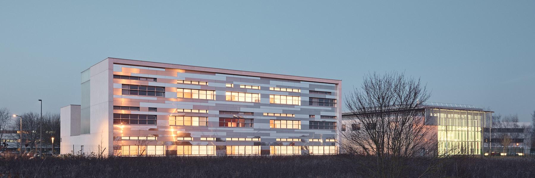 IUT Senart à Lieusaint par Enia architectes