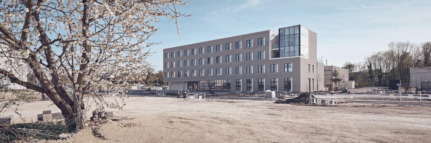 Construction du nouveau centre Mipih à Amiens par Enia architectes