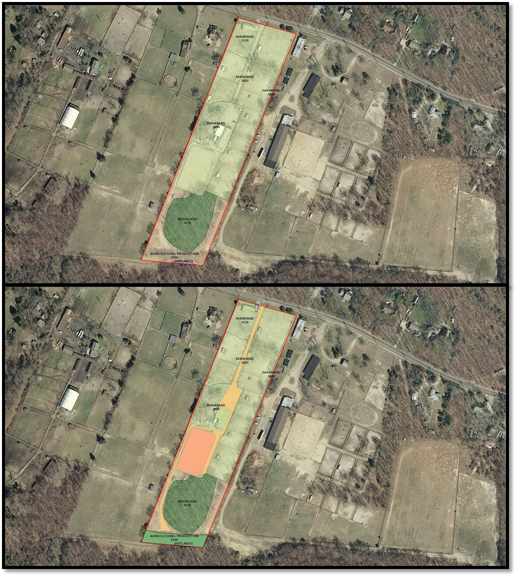 Before and after. Using ArcMap to add and edit topology bringing 2007 maps up to date.