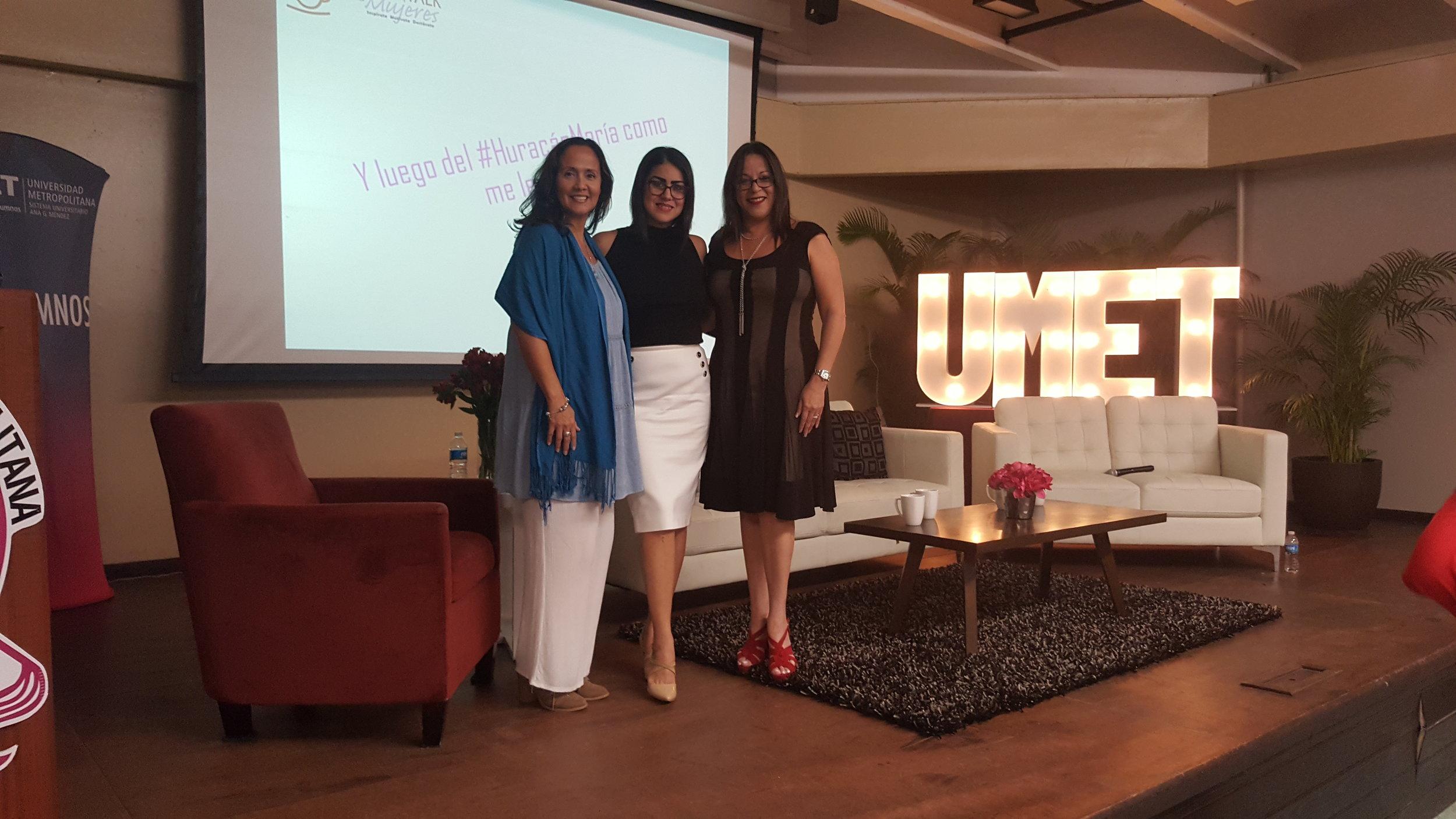 Segundo Conversatorio Coffee Talk para Mujeres, celebrado en la Universidad Metropolitana (UMET) de Cupey