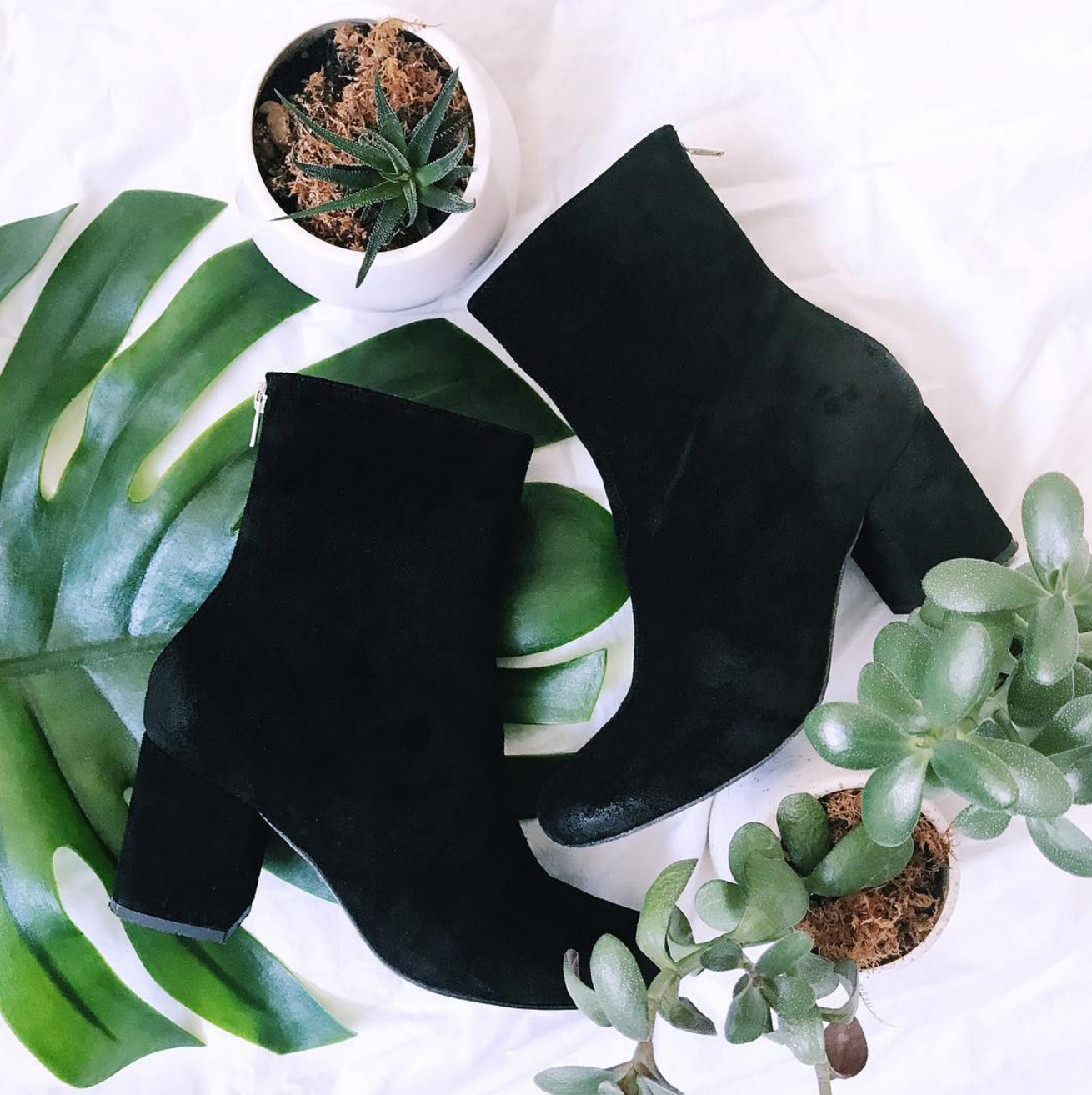 FREE PEOPLE BLACK ANKLE BOOTIES - AVAILABLE IN STORES NOW sku 678-0174 $262