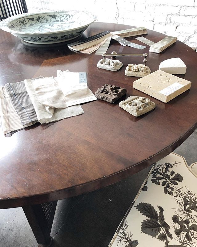 The color pallet on this project is 👌🏻👌🏻 If only the rain would stop for 4 days to get some excavation underway!!!! #laurelpowelldesigns #architecture + #interiors (our @hollandmacrae conference table always helps to elevate our materials too! 🖤)