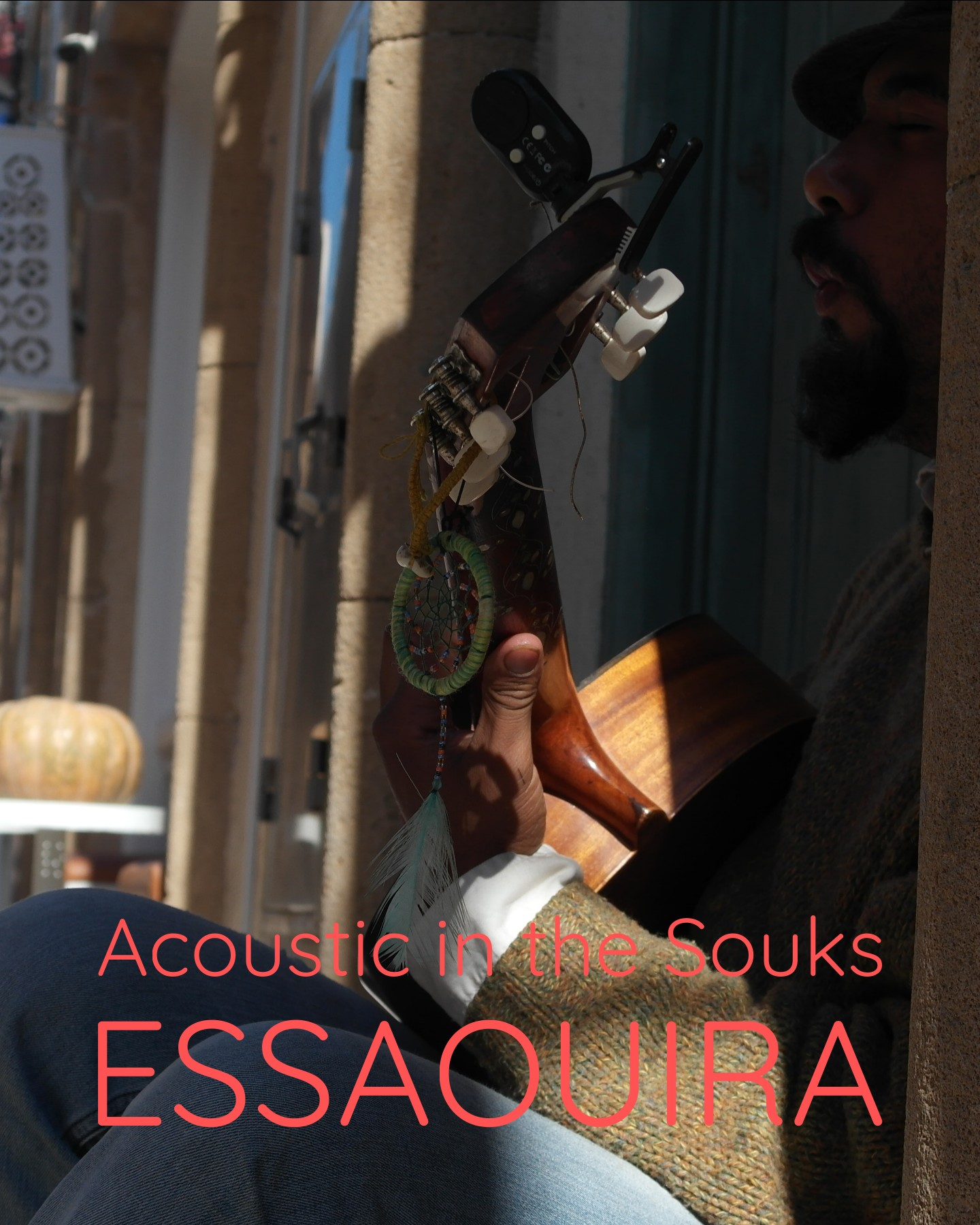 Busker in Essaouira