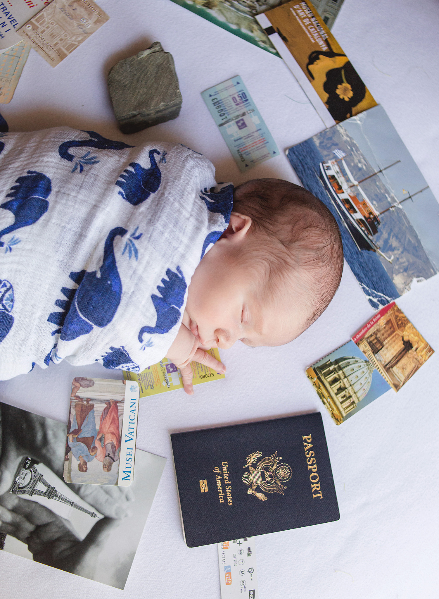Can you tell his parents love to travel? I see a passport in this little ones future very soon, I'm sure he will be joining his family on many amazing adventures!