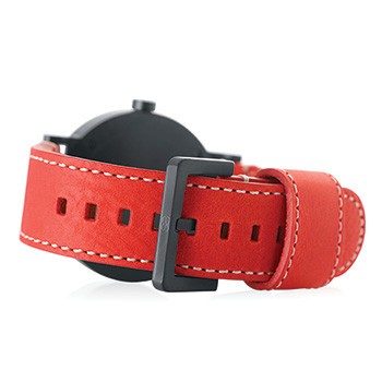 Red Flame Leather Band