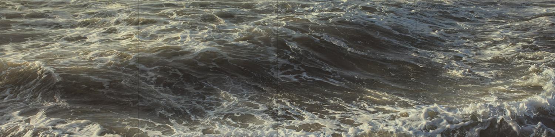 "Element No. 14, oil on canvas, quadriptych, 32"" x 128"", 2015"
