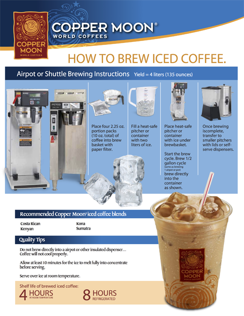Iced Coffee for Foodservice