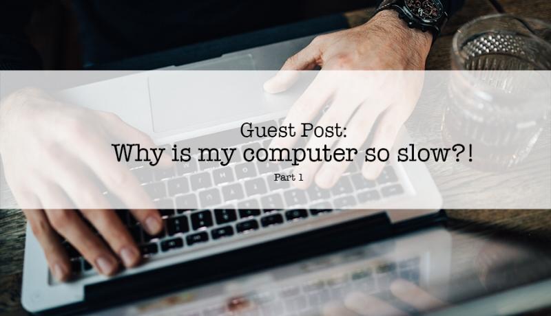 Slow computer upgrade ssd blog post