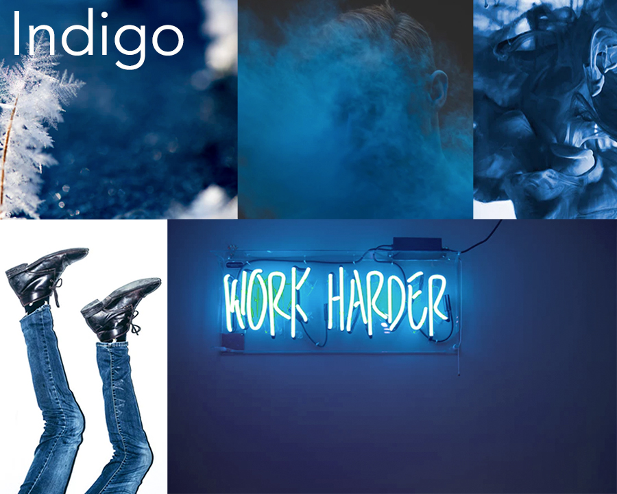 Catherine McGuire Surface Design Color of the week: Indigo
