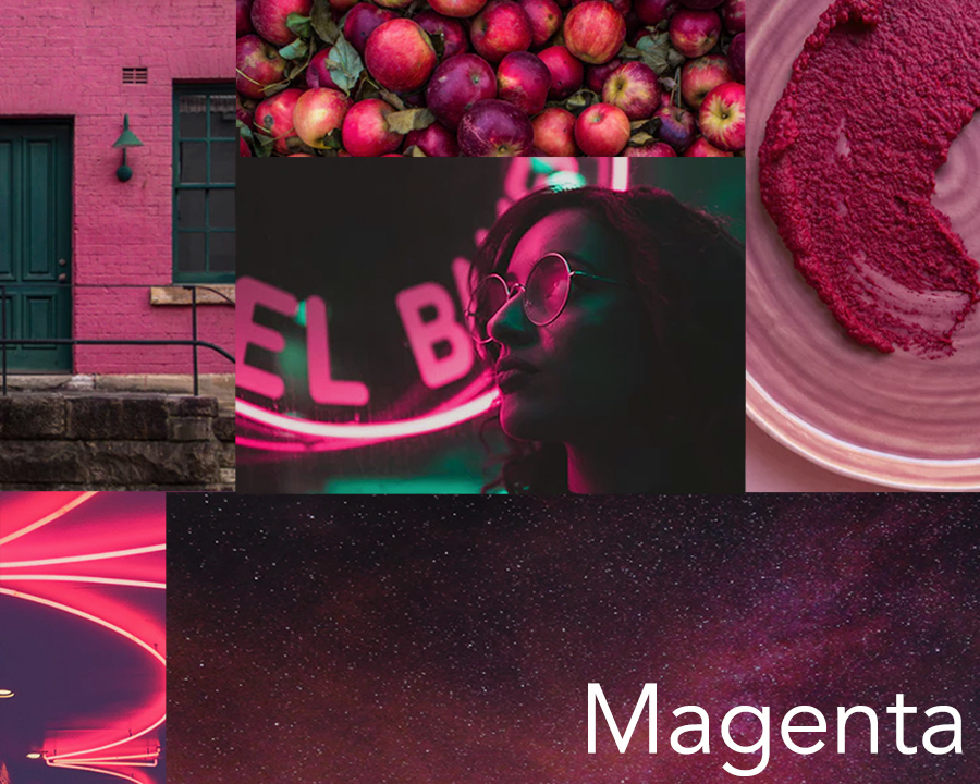 Catherine McGuire Surface Design Color Trend Mood Board Magenta