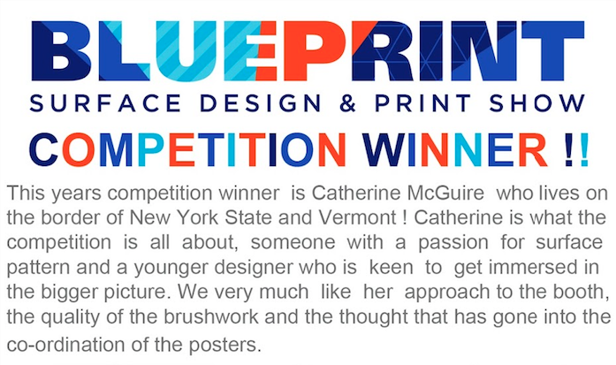 I cannot express how thrilled I am, and am flattered and encouraged by the kind words from the folks at Blueprint! Check out  their site  and the  blog post  about the contest!