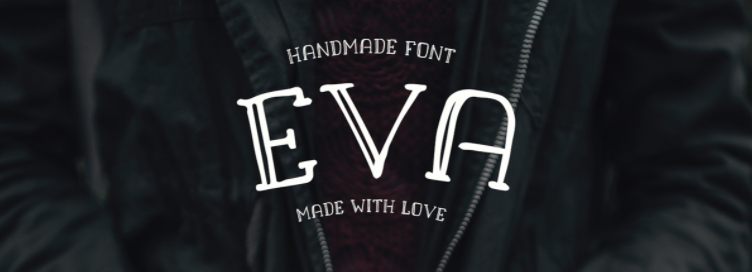 Eva Cute Free Font by Alan Pires Catherine McGuire Illustrations Blog