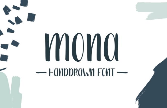 Mona Font Wild Ones Studio