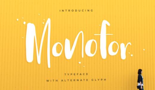 Catherine McGuire Illustrations Blog: Best fonts- Monofor