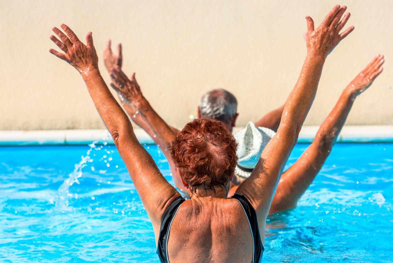 Active Seniors Excercising