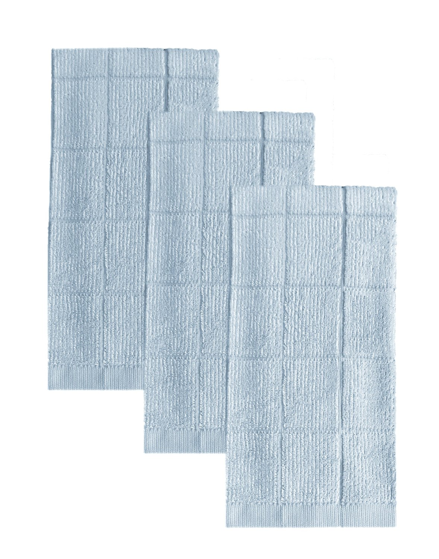 Sky Blue Bamboo Kitchen Towel - Set of 3.jpg