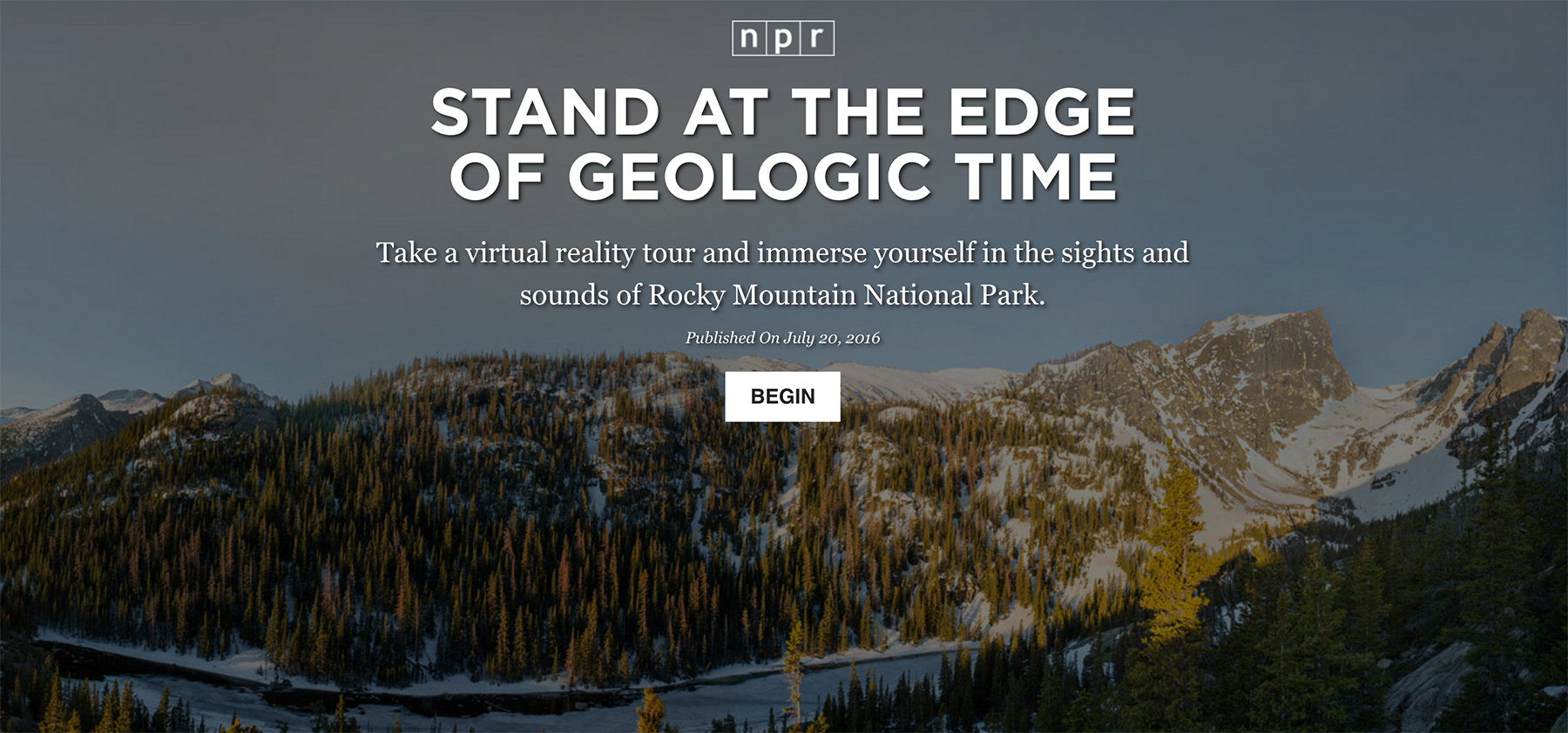 (Click to begin the Rocky Mountain interactive experience with NPR)