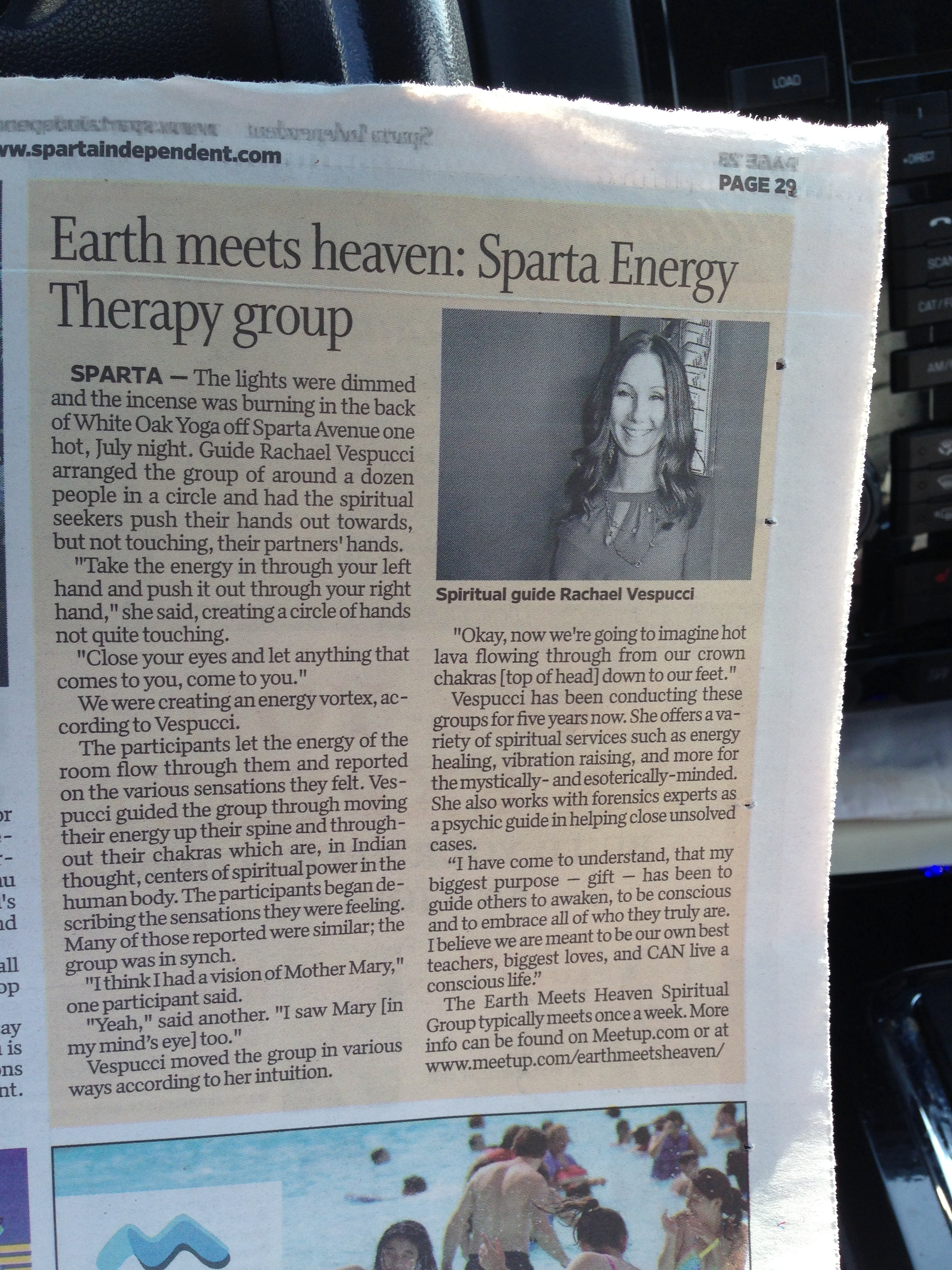 Proudly featured in the Sparta Independent