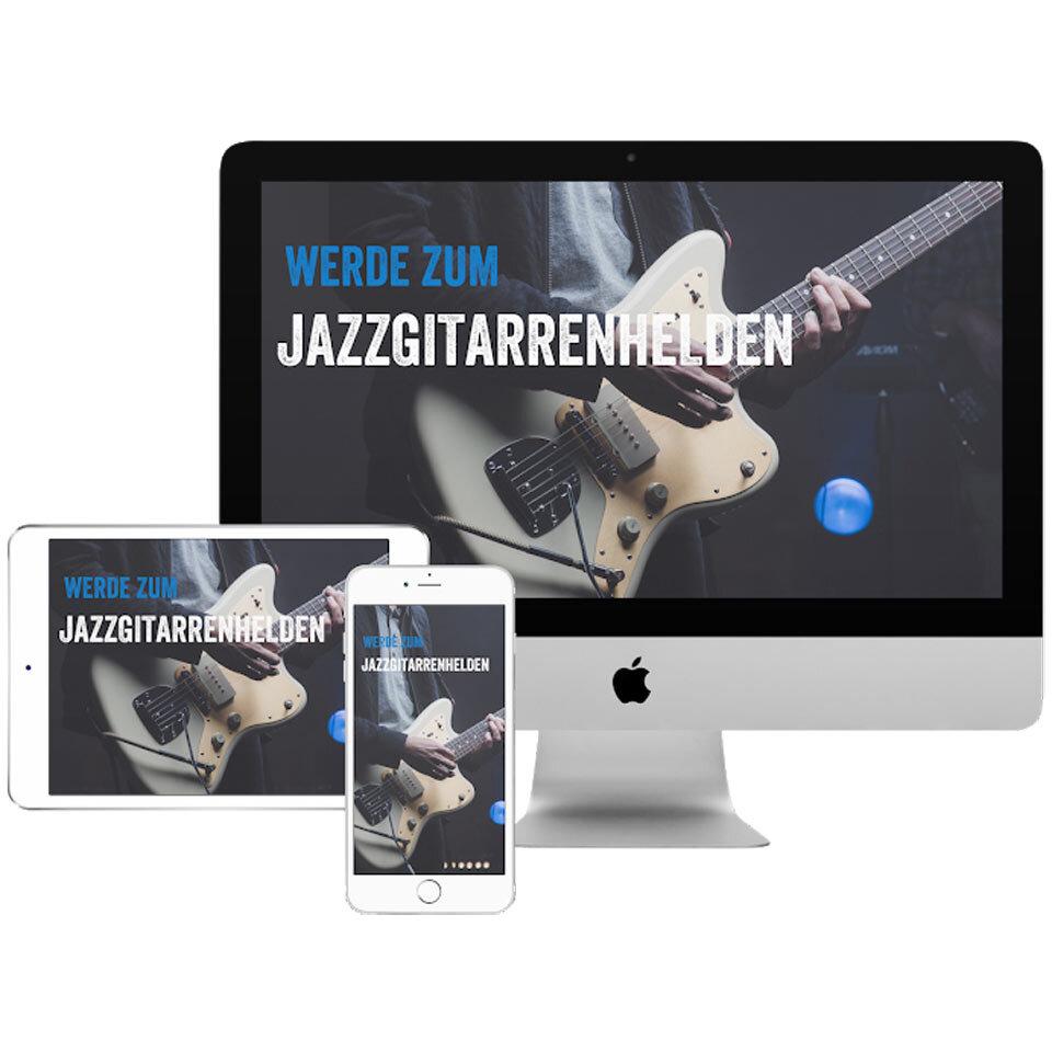 Kurs: Werde zum Jazzgitarrenhelden - Preis: 197 Eur