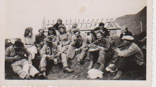 Farmers in Ingjaldssandur