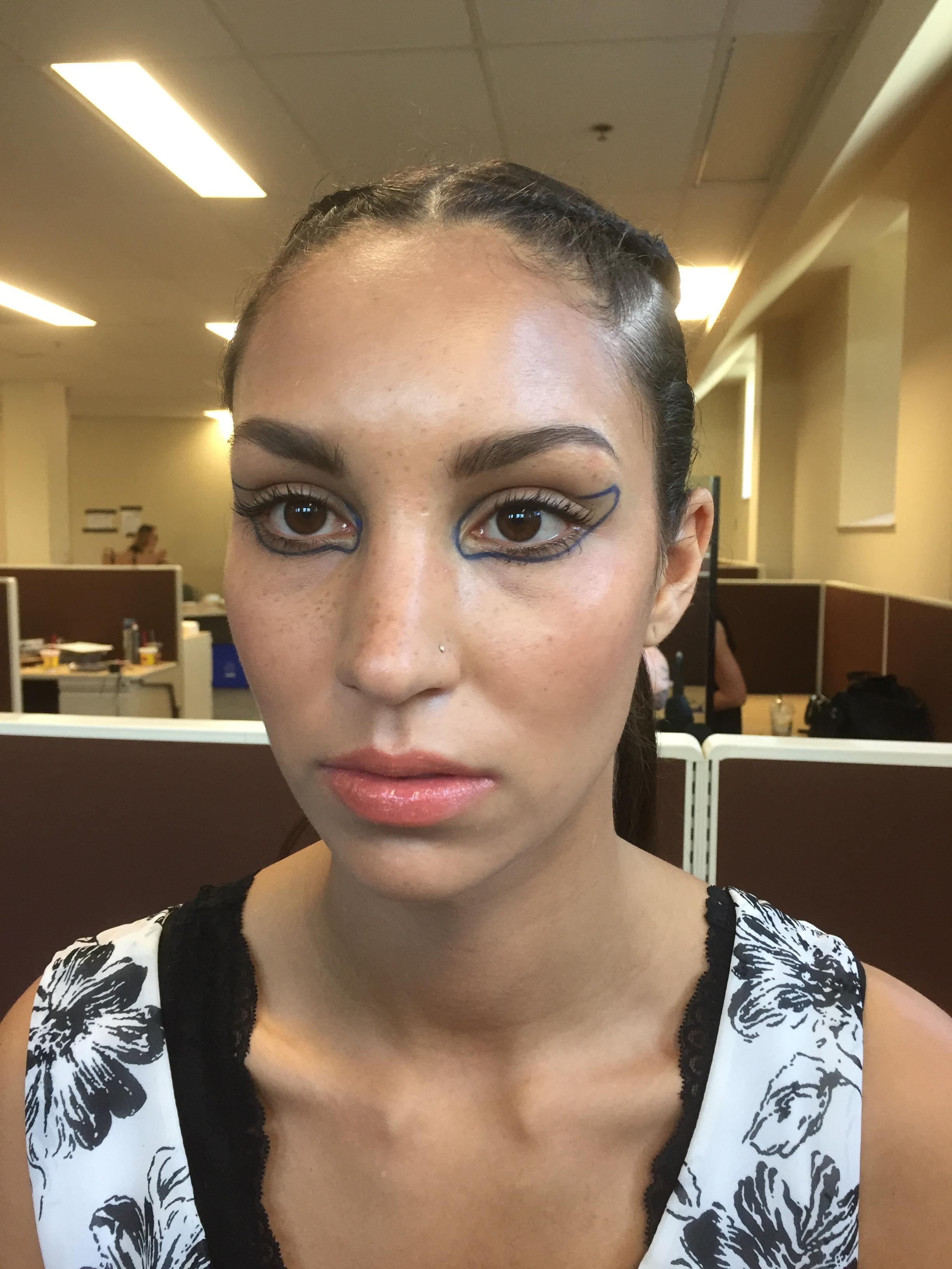 Saskatchewan Fashion Week 2017  Makeup Look created by: Ginette Hall Makeup Artist  Executed by: Samantha Tran