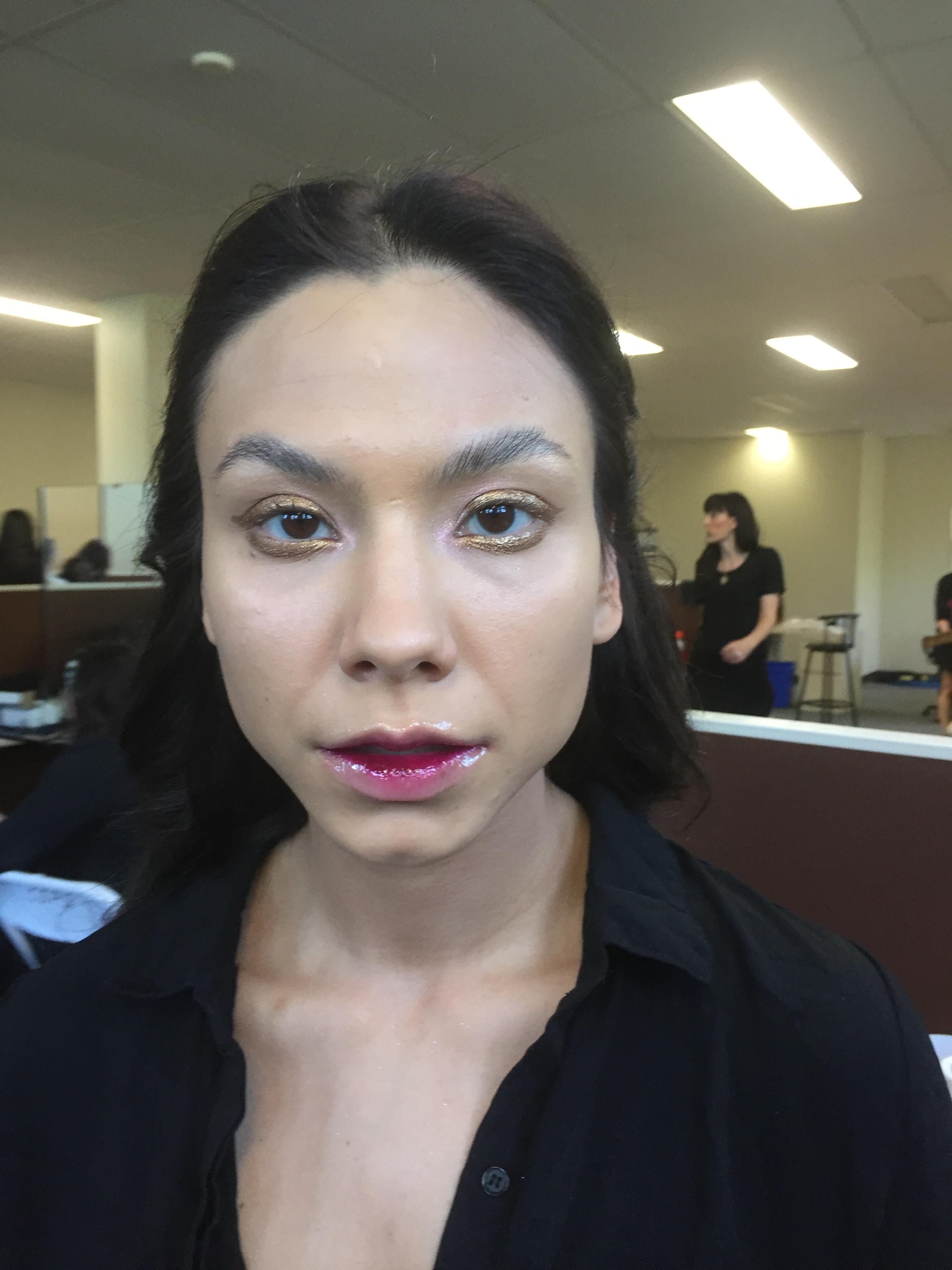 Saskatchewan Fashion Week 2017  Makeup Look Created by: Sara Lindsay  Executed by: Samantha Tran