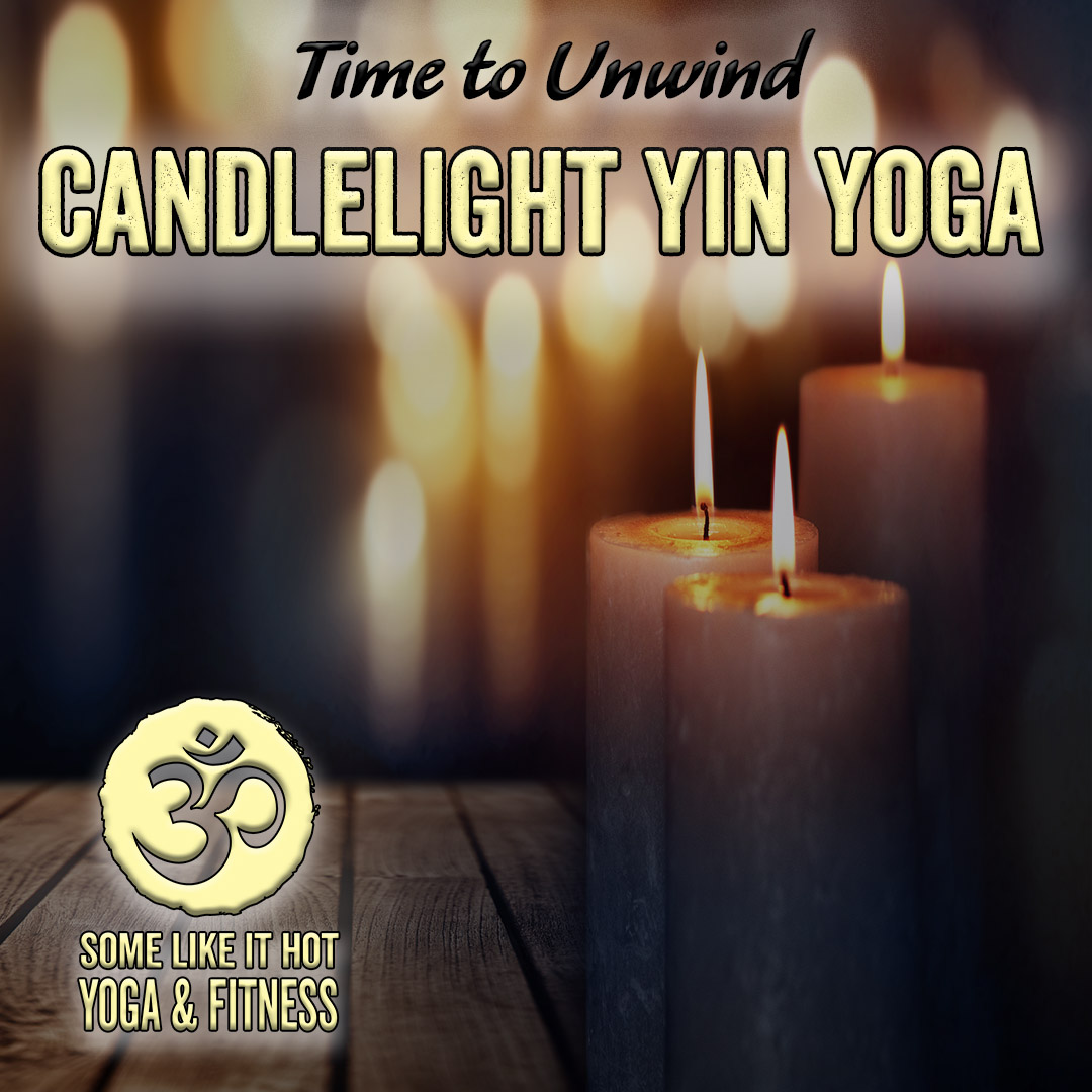 Unwind and renew with Candlelight Yin Yoga