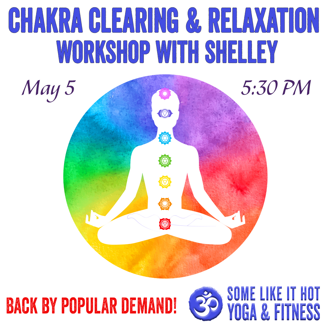 Clear chakras and some self-love.