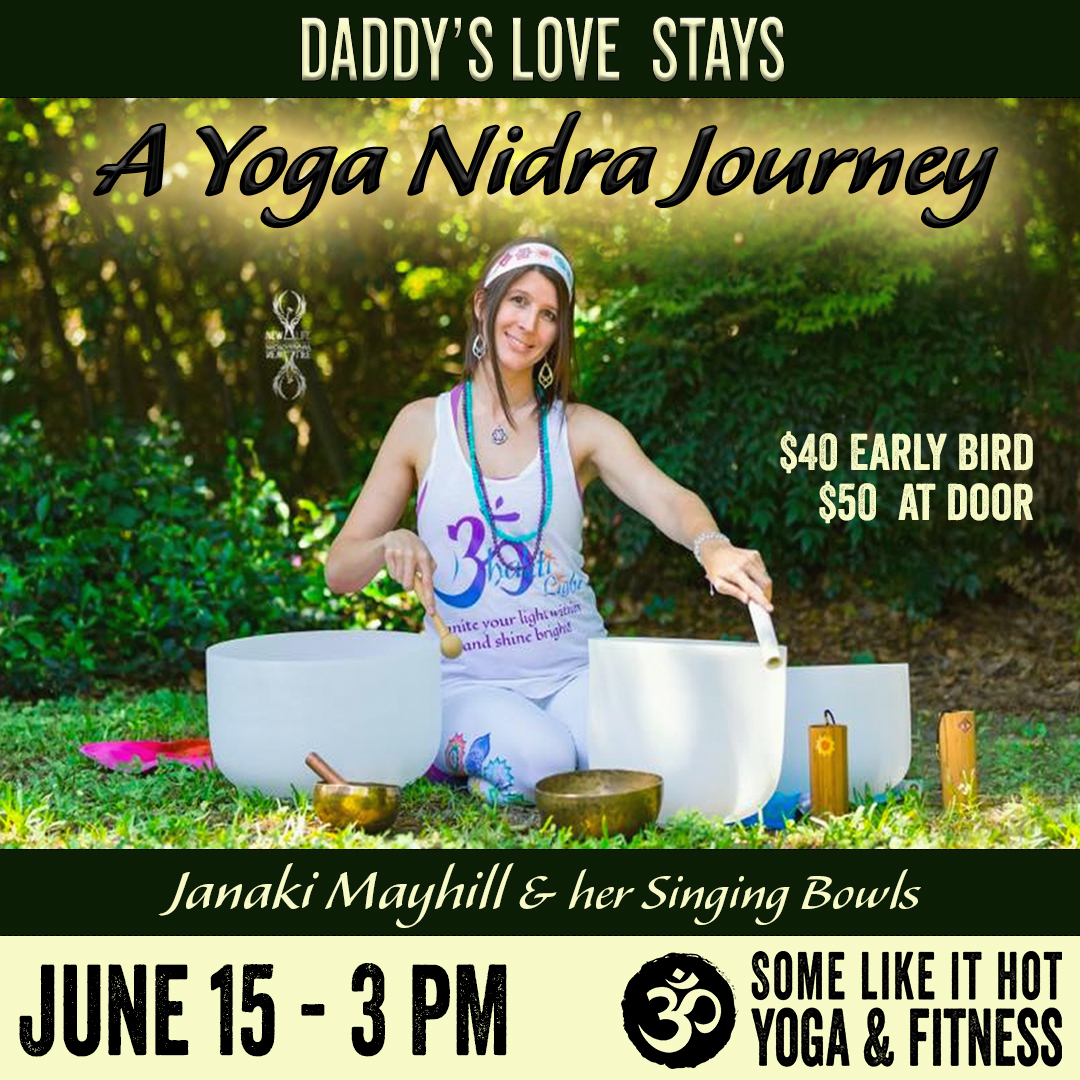 Janaki Mayhill comes back to Some Like it Hot Yoga!