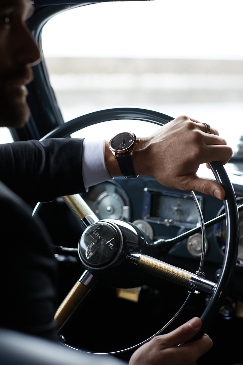 A ride in the cosmopolitan heritage of our CFB woman and man. Five distinct personalities present our new Manero Peripheral and classic styles from the Carl F. Bucherer Adamavi collection. -