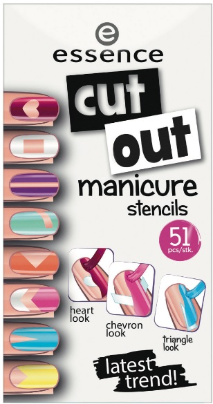Essence Cut out Manicure stencils