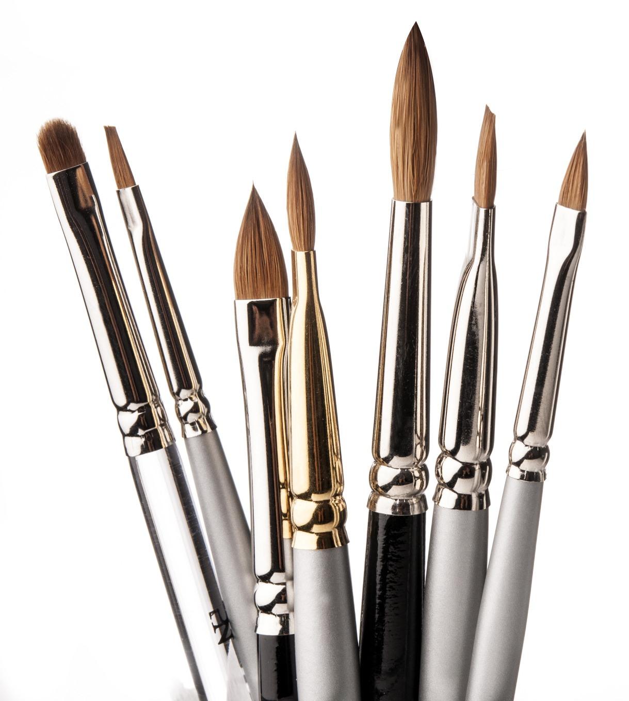 Kolinski nailart penselen