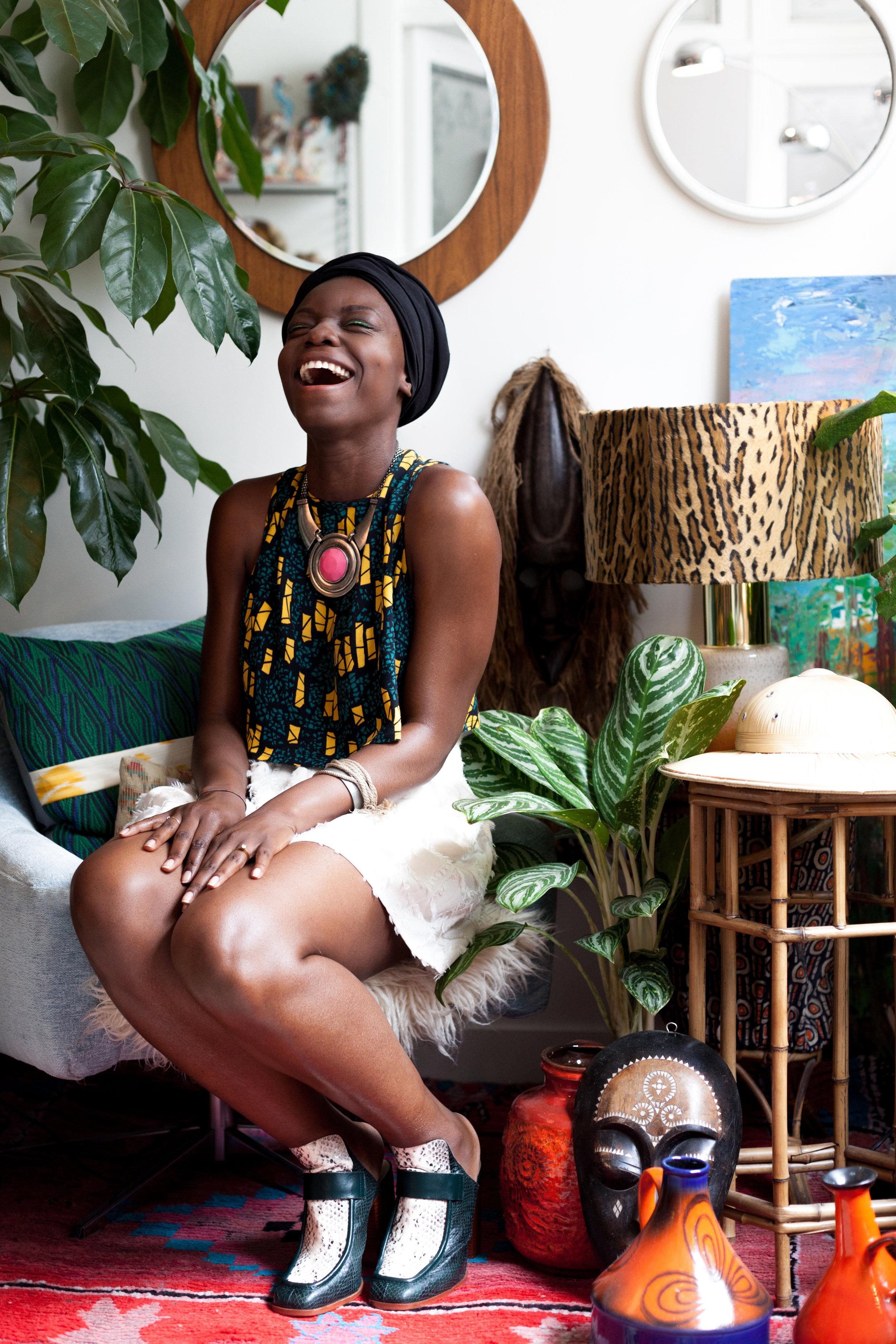 MarieFrance - Pr consultant, DJ & contributor for belmodo.comInstagram: @marifranceprRoots: Congo