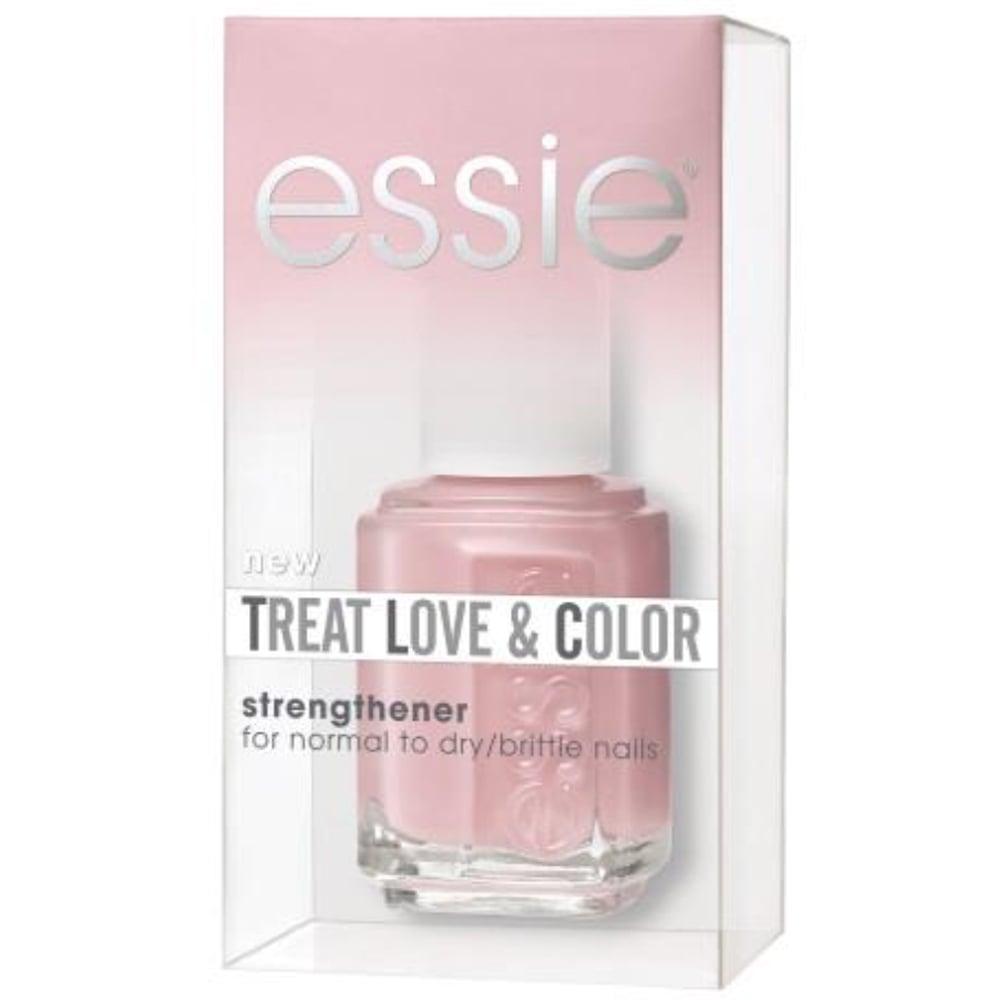 - Stap 2. Geef je nagels twee laagjes nude of pastelkleurige nagellak. Wij gingen voor Treat, Love & Colour in Sheers to You van Essie die je nagels een licht kleurtje en een gezonde glans geeft en ze belooft te verzorgen. Zorg ervoor dat je (vaak lichtgekleurde) bloemetjes voldoende opvallen als je voor een kleurtje kiest. Vandaar dat pastels een goede optie zijn.