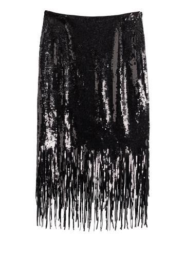 Black Sequin Skirt - 59€