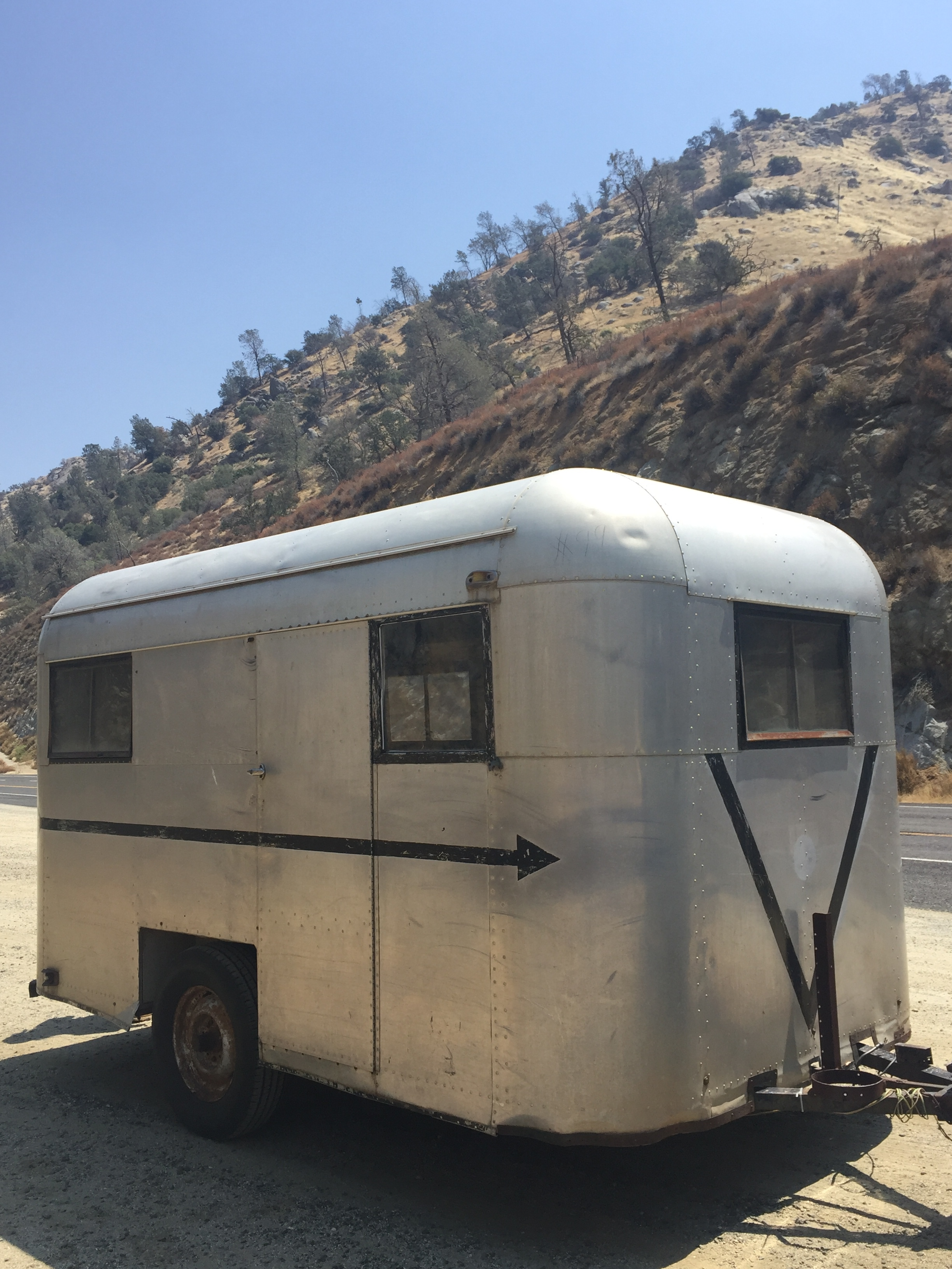1946 mobilglide vintage trailer