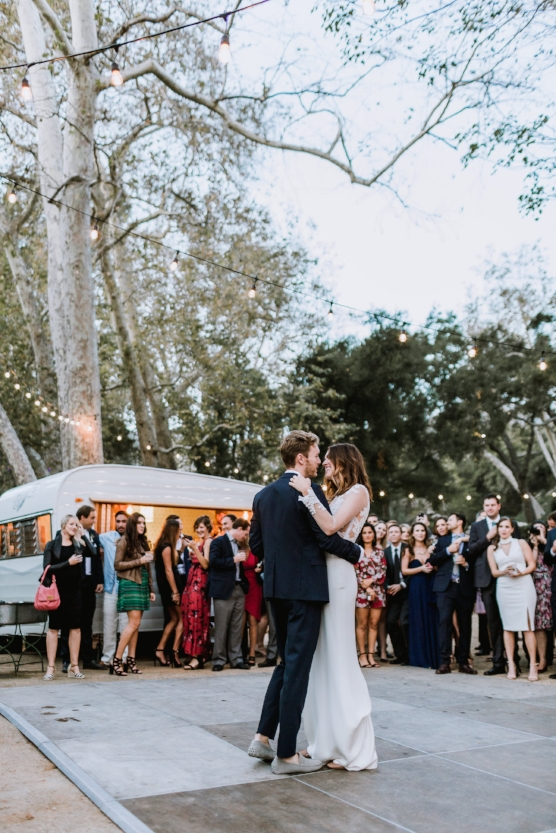 Backyard Montecito Wedding