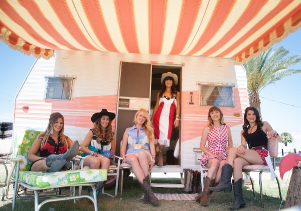 The official Tinker Tin Trailer Park at Stagecoach Country Music Festival 2016!