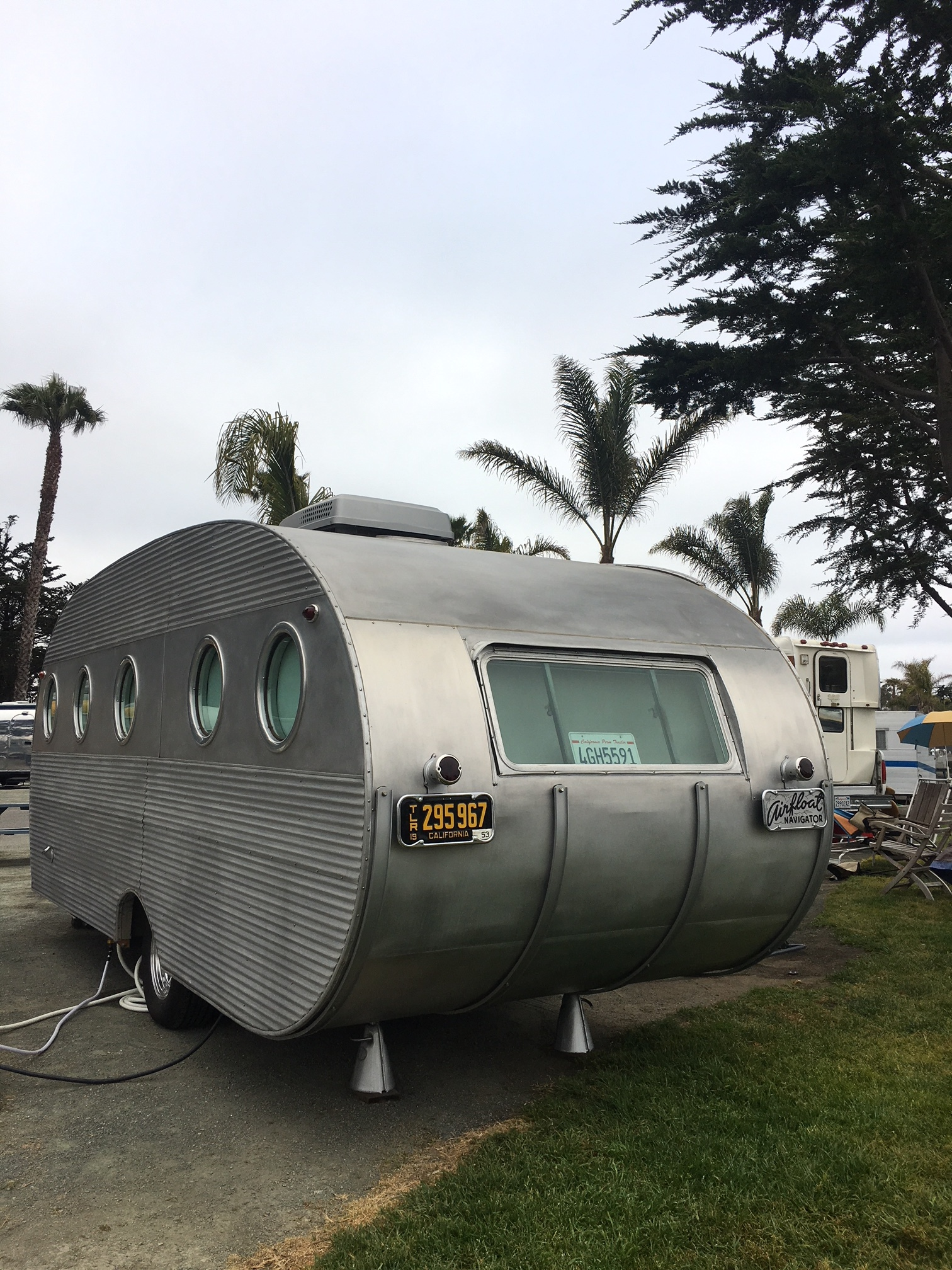 A 1950 Airfloat Vintage Trailer!