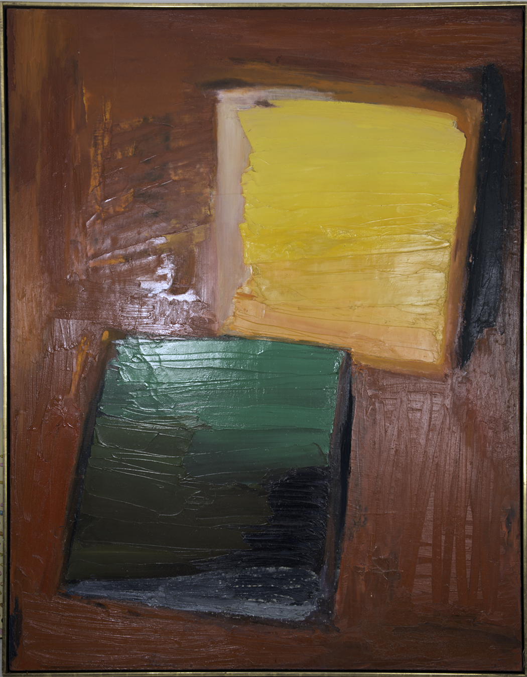 LIBERATION 1960  oil on canvas 60x80 inches