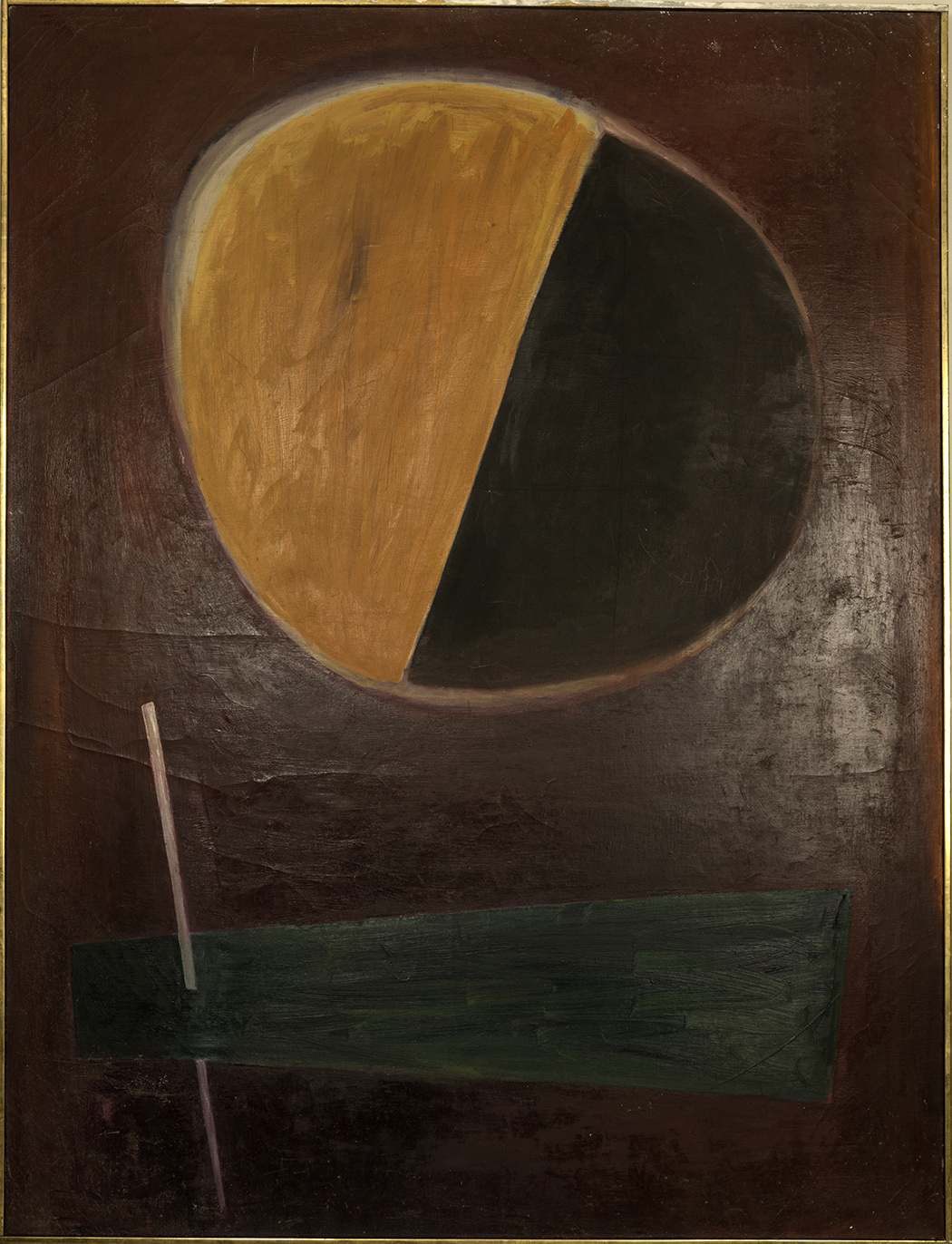 UNTITLED 1960  oil on canvas 60x78 inches
