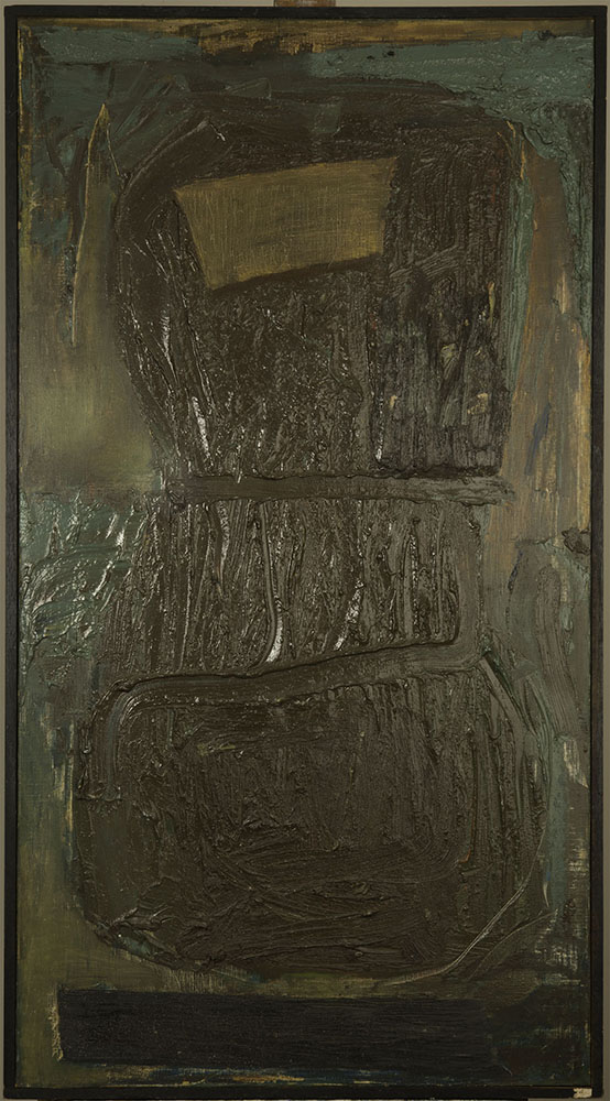 THE TUNIC 1961  oil on canvas 24x47 inches