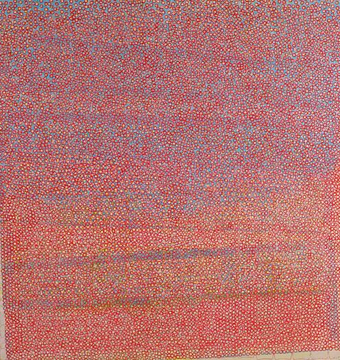 "Lipstick Butch   oil on panel 40 x 38"" 2006"