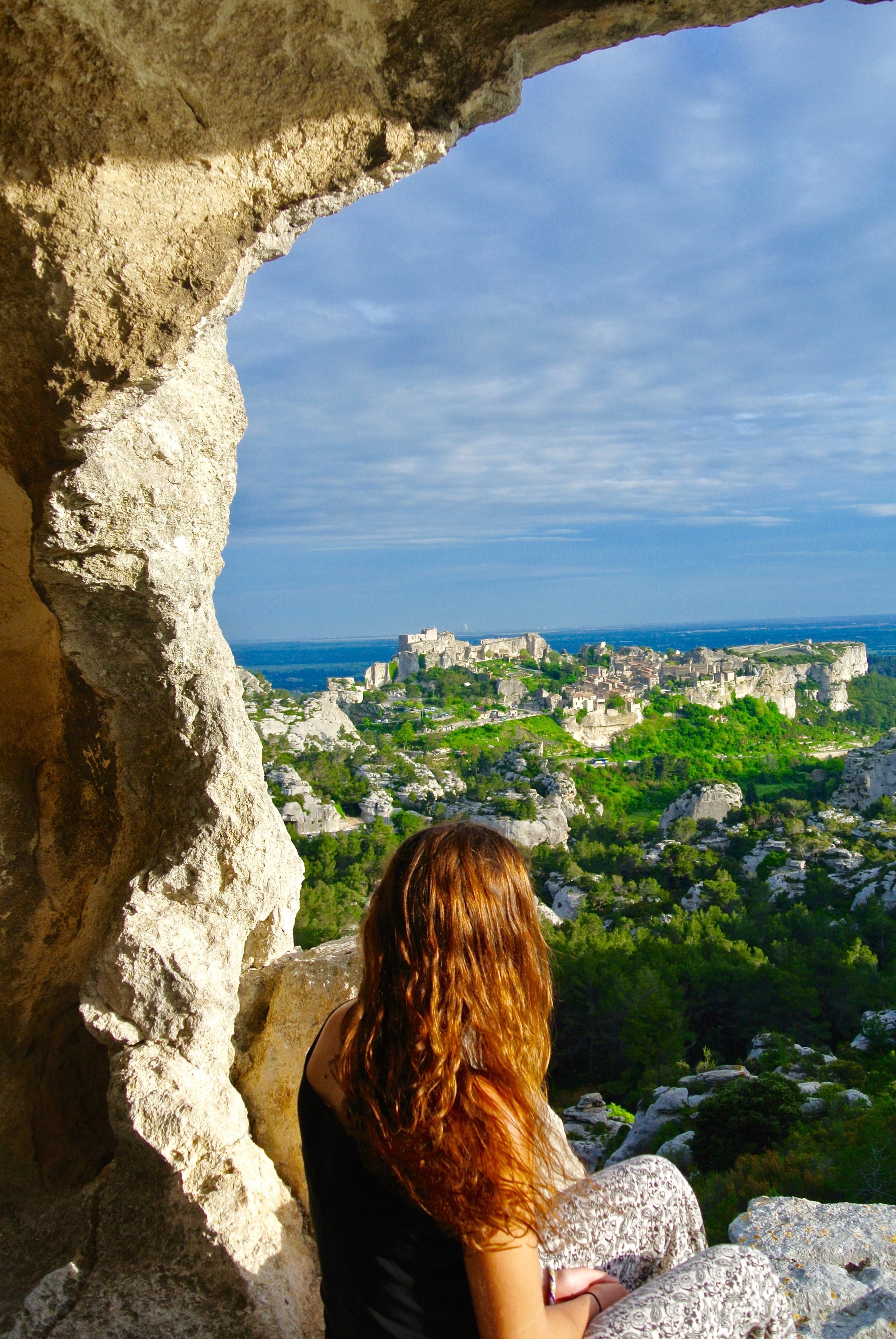 View of Les Baux