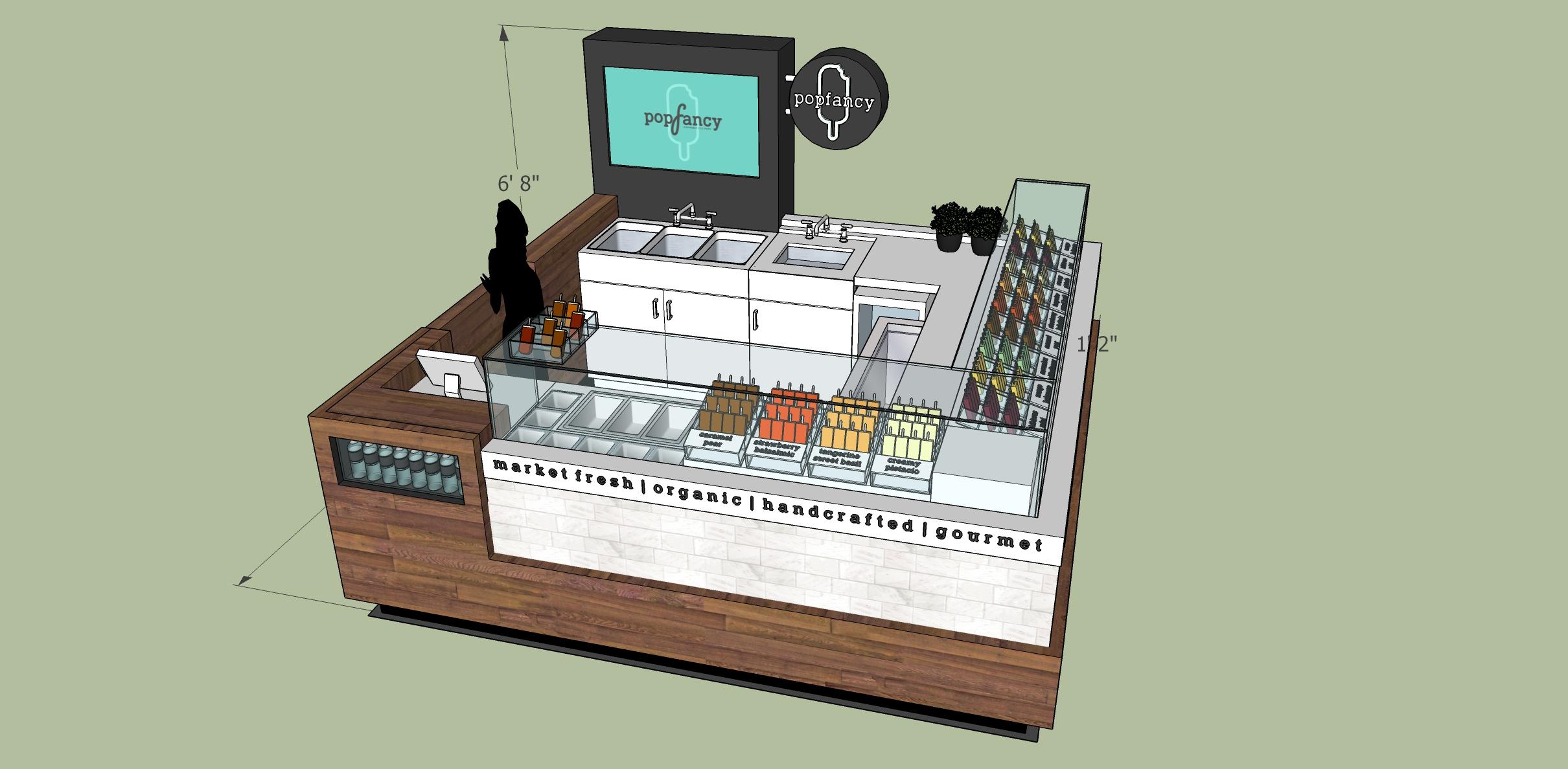 Popfancy Kiosk Design